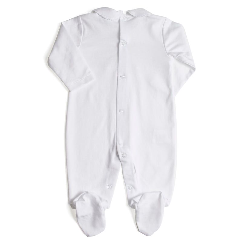 Nightwear Bodysuit Smocked in Grey - Nightwear - PEPA AND CO