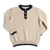 Traditional Cream Jumper - Jumper - PEPA AND CO