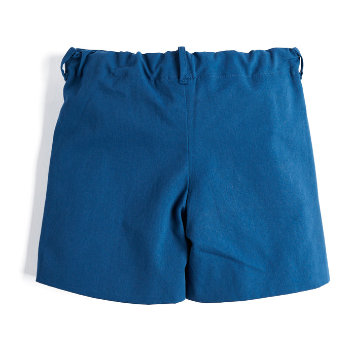 Boys' Blue Cotton Shorts - Shorts - PEPA AND CO