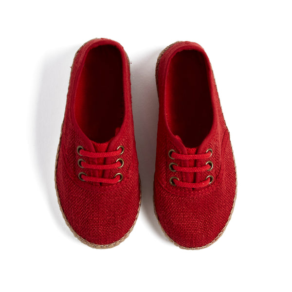 Red Espadrilles - Shoes - PEPA AND CO