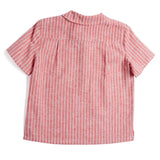 Red Striped Linen Shirt - Shirt - PEPA AND CO