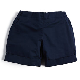 Baby Boys' Navy Cotton Shorts - Shorts - PEPA AND CO