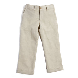 Boys Cotton Beige Chinos - Trousers - PEPA AND CO