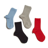 Ribbed short socks - Stone - Socks - PEPA AND CO