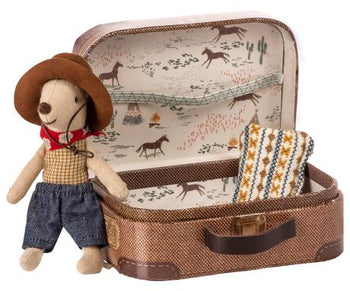 Cowboy in Suitcase - Toy - PEPA AND CO