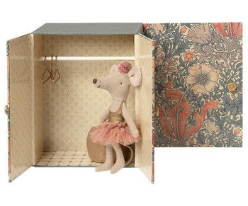 DANCE ROOM WITH BIG SISTER MOUSE - Toy - PEPA AND CO