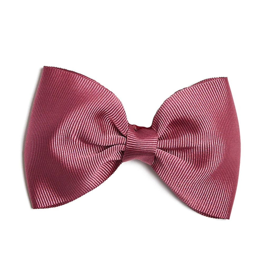 Raspberry Pink Medium Bow Clip - Hair Accessories - PEPA AND CO