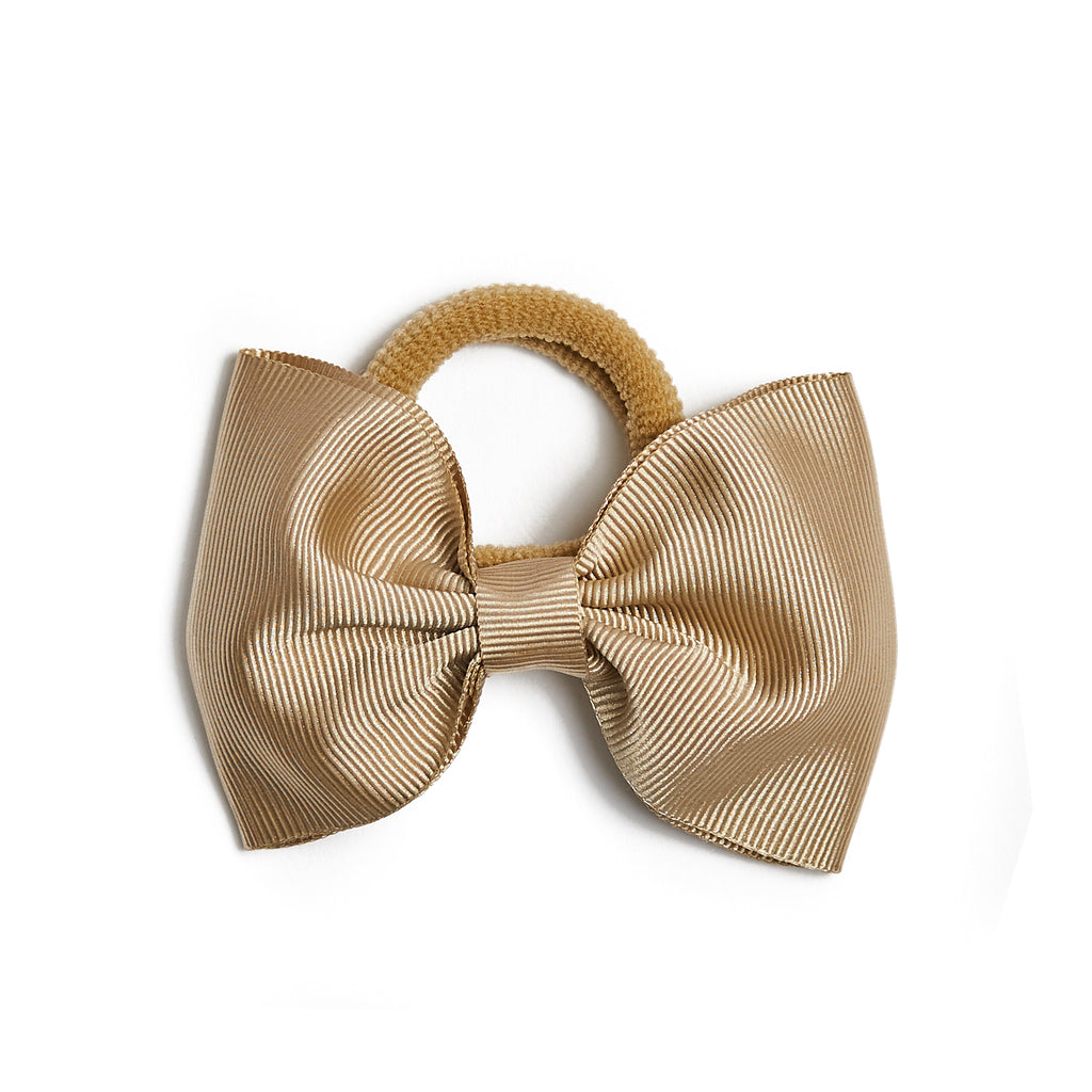 Medium Hair Tie - Camel