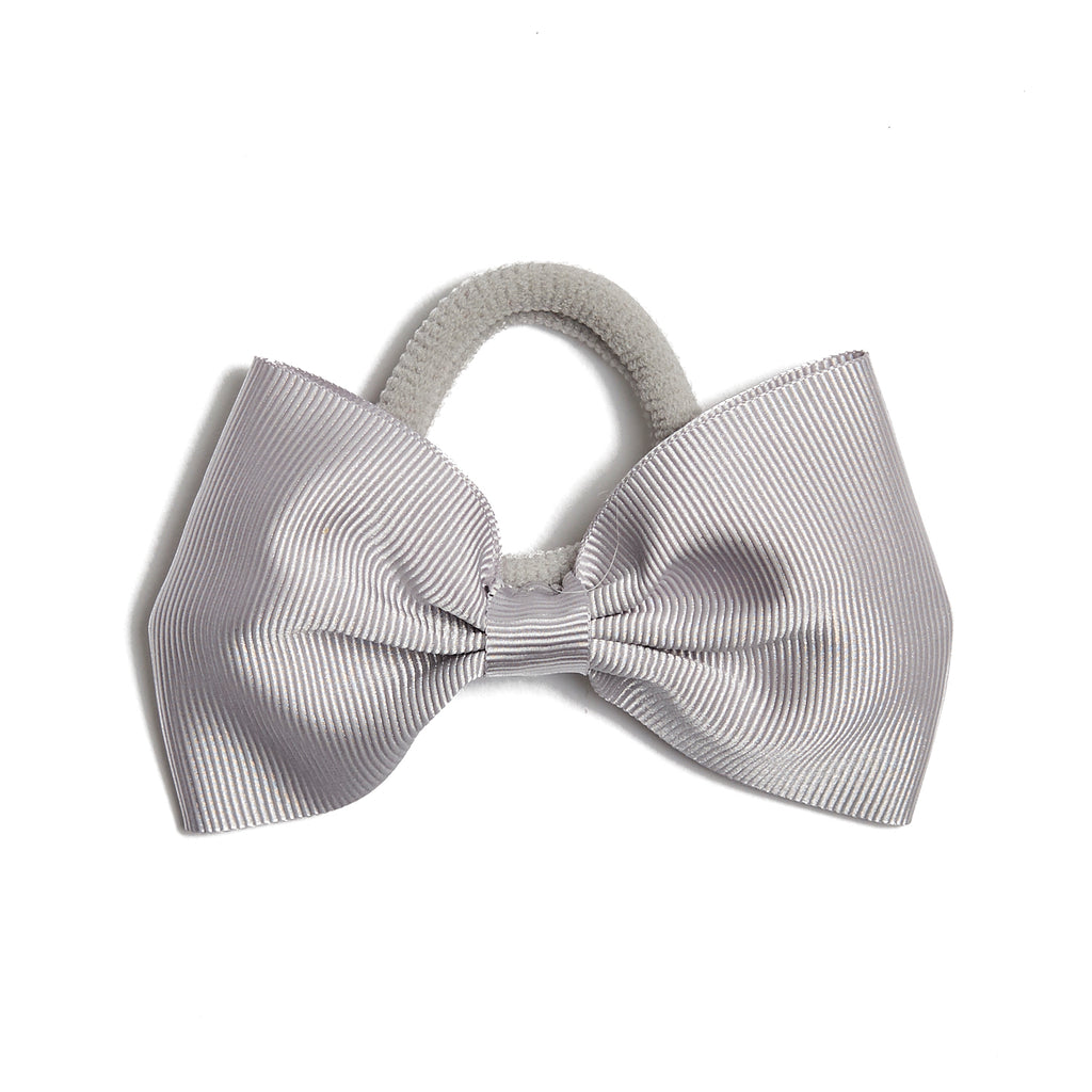 Medium Hair Tie - Light Grey