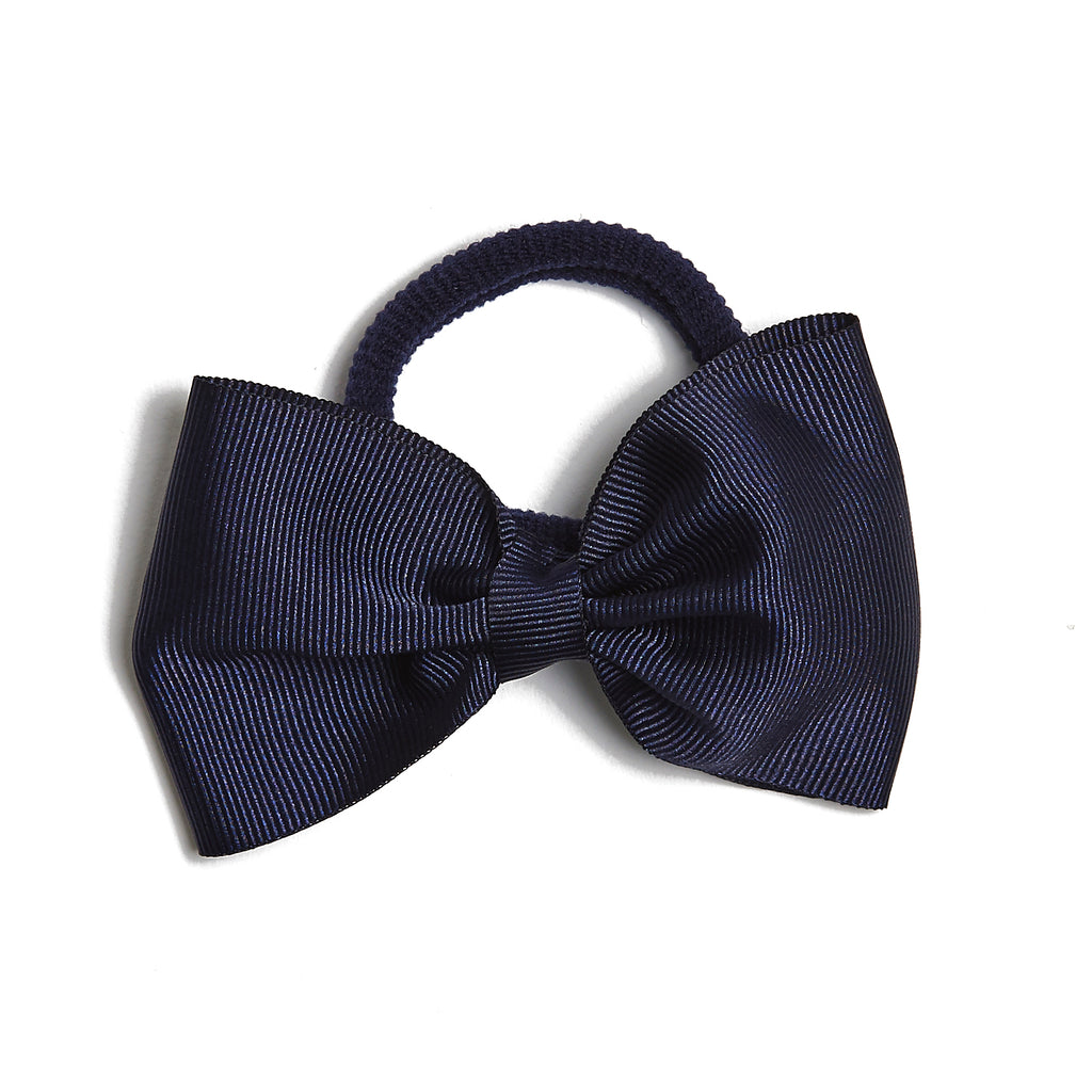 Medium Hair Tie - Navy