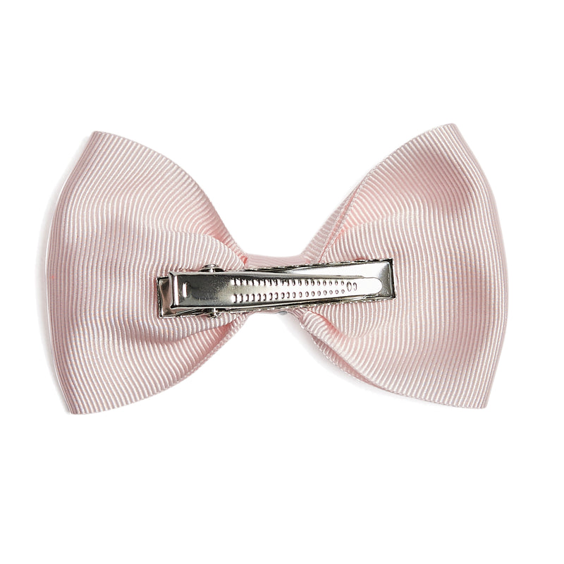 Medium bow clip - Baby Pink - Hair Accessories - PEPA AND CO