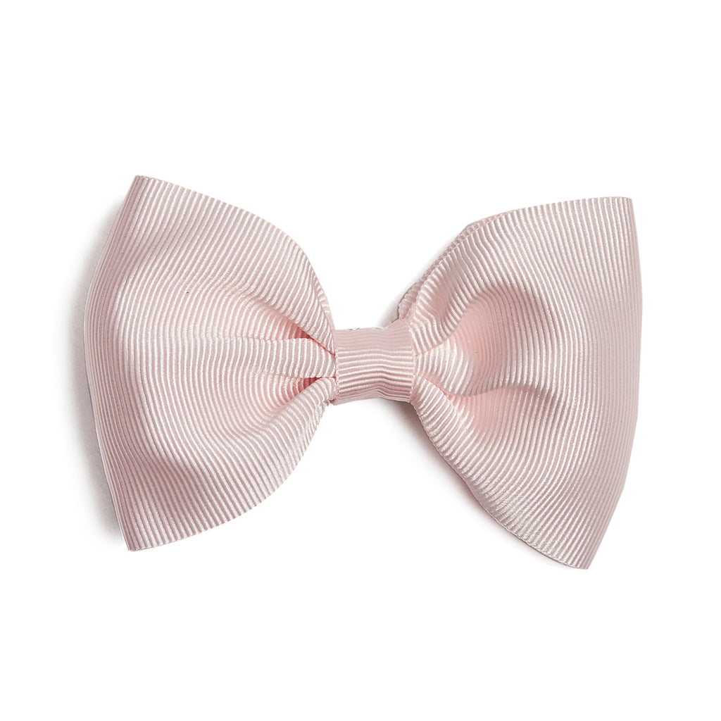 Light Pink Medium Bow Clip - Hair Accessories - PEPA AND CO