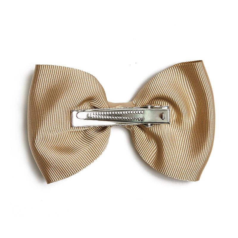 Medium bow clip - Camel