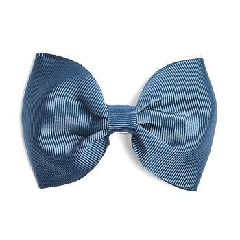 Blue Medium Bow Clip - Hair Accessories - PEPA AND CO