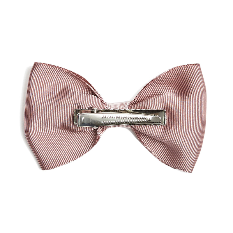 Medium bow clip - Dusty Pink