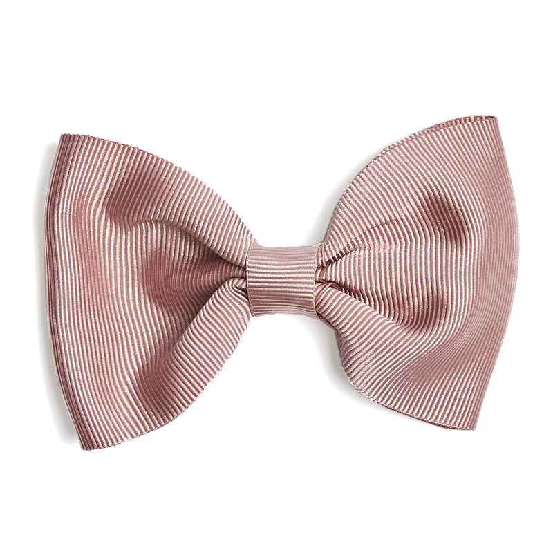 Dusky Pink Medium Bow Clip - Hair Accessories - PEPA AND CO