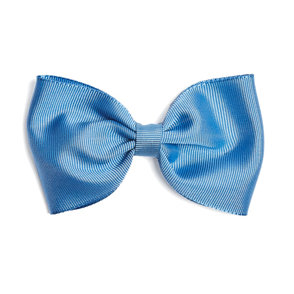Medium bow clip - Light Blue