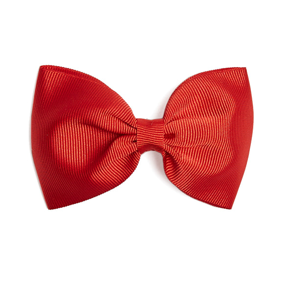 Medium bow clip - Red