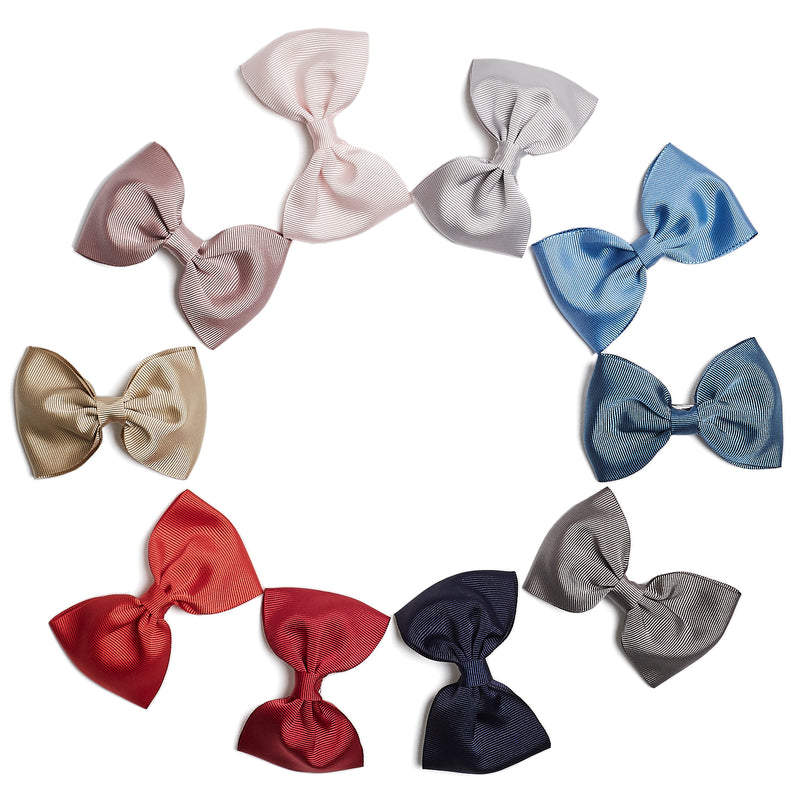 Medium bow clip - Light Blue - Hair Accessories - PEPA AND CO