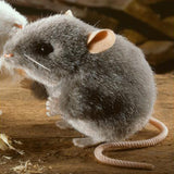 Grey Mouse Toy - Toy - PEPA AND CO