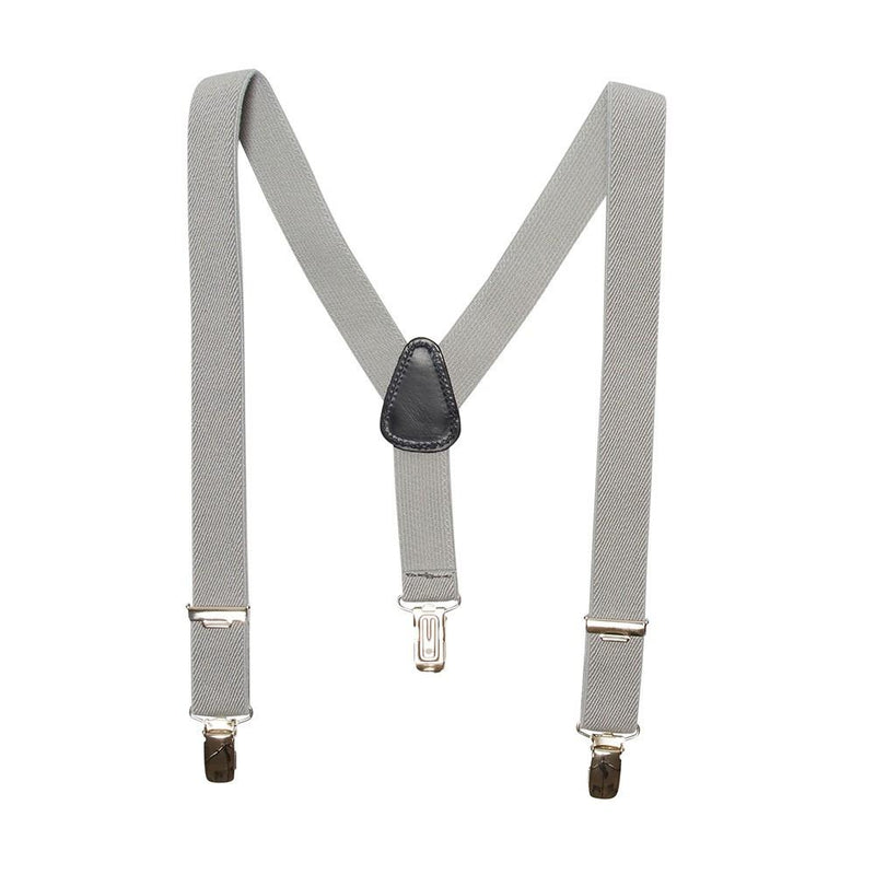 Light Grey Braces - Belt & Braces - PEPA AND CO
