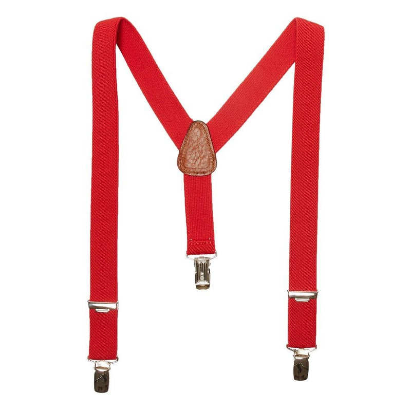 Red Braces - Belt & Braces - PEPA AND CO