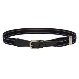 Navy Striped Belt - Belt & Braces - PEPA AND CO