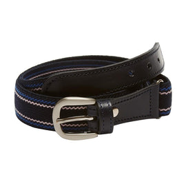 Boys striped belt - Navy