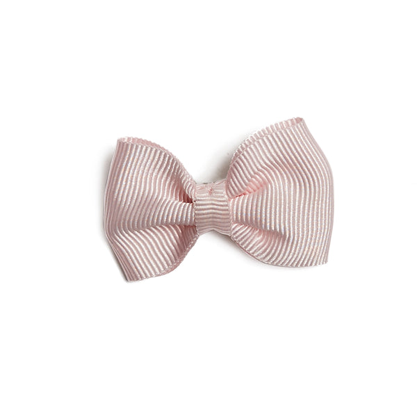 Small bow clip - Baby pink