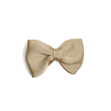 Camel Small Bow Clip - Hair Accessories - PEPA AND CO