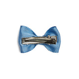 Light Blue Small Bow Clip - Hair Accessories - PEPA AND CO