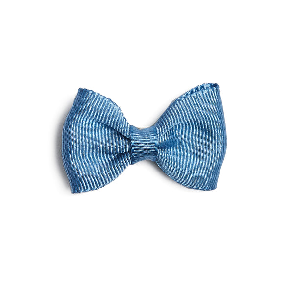 Small bow clip - Light Blue