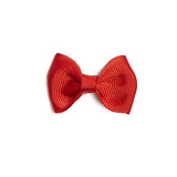 Small bow clip - Red