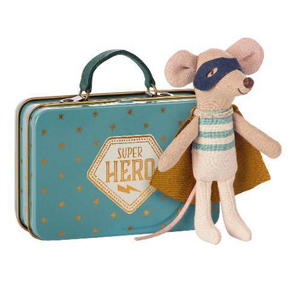 Superhero Mouse in Suitcase - Toy - PEPA AND CO