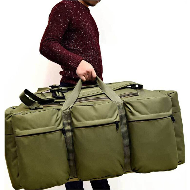 Men's Vintage Travel Bags Large Capacity Canvas Tote