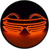 X33 : Solid Tangerine Moonglasses ™