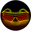 X42 : Gold + Red Moonglasses ™