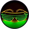 X45 : Gold + Lime Moonglasses ™