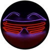 X92 : Violet + Red Moonglasses ™