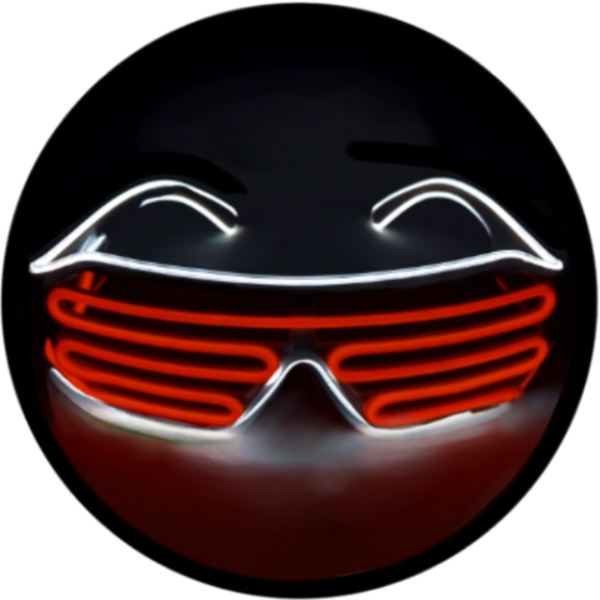 MOONGLASSES ™<br>X02 : Chrome + Red