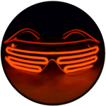 MOONGLASSES ™<br>X23 : Red + Tangerine