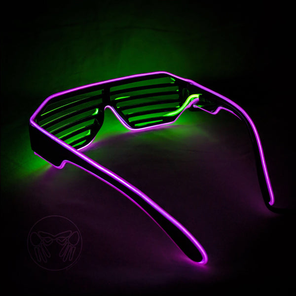 MOONGLASSES ™<br>X95 : Violet + Lime