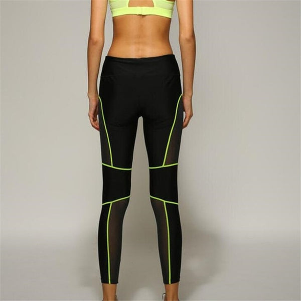Neon Strip Leggings