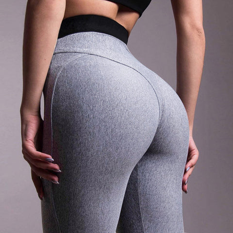 Solid Hip Workout Leggings
