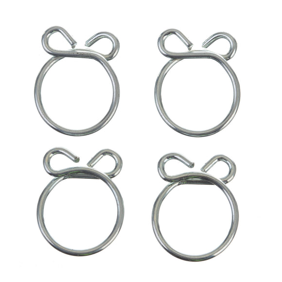 FS00045 FUEL HOSE CLAMP 4 PC KIT - WIRE STYLE 13.5MM ID