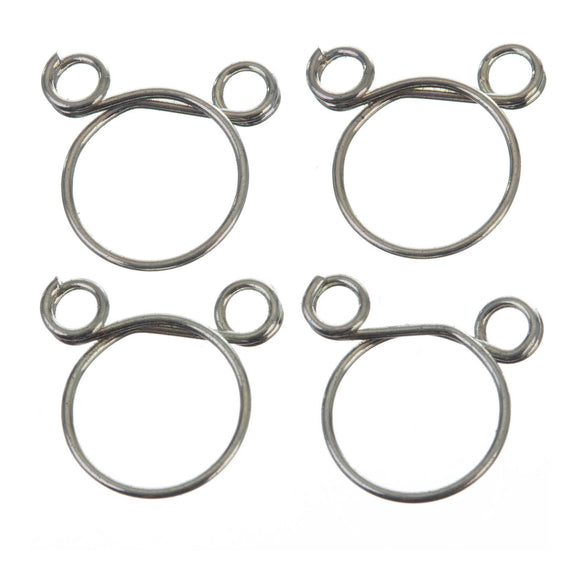 FS00050 FUEL HOSE CLAMP 4 PC KIT - WIRE STYLE 8.3mm ID