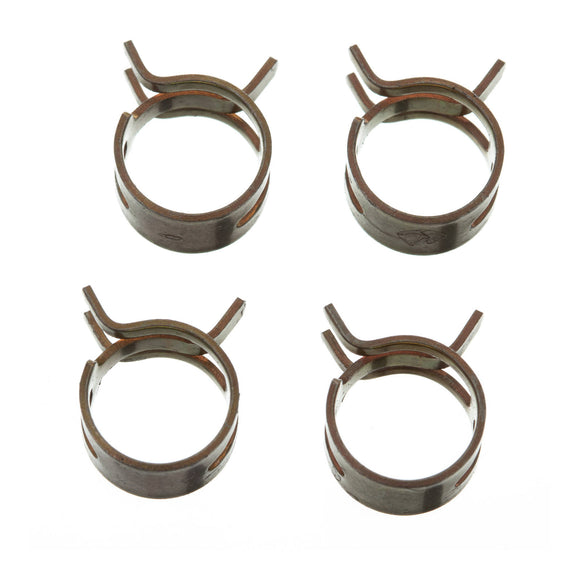 FS00056 FUEL HOSE CLAMP 4 PC KIT - BAND STYLE 12mm ID
