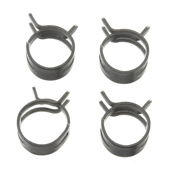 FS00063 FUEL HOSE CLAMP 4 PC KIT - BAND STYLE 11mm ID