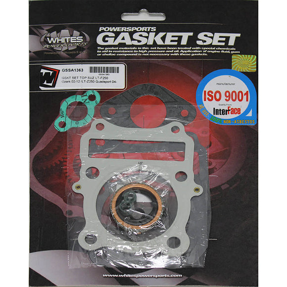 WHITES GASKET SET TOP SUZ LT-F250 02-12 /LT-Z250 04