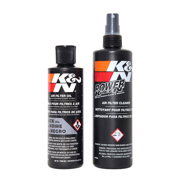 K&N RECHARGER KIT; SQUEEZE OIL K99-5050BK - BLK
